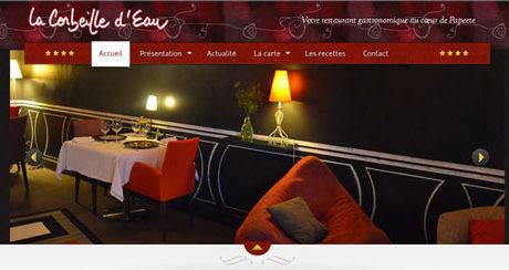 Site web Corbeille d'Eau