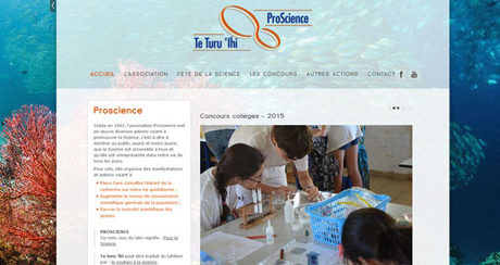 Site web Proscience