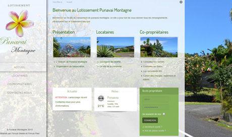 Site web Punavai Montagne