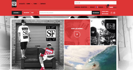 Site web SuitNFly